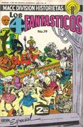 Los 4 Fantasticos (Mexican 1974-1978 Editorial OEPISA) Fantastic Four 19