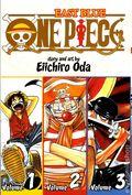 One Piece TPB (2009- Viz) 3-in-1 Volume 1-3-REP