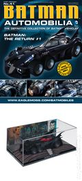 Batman Automobilia: The Definitive Collection of Batman Vehicles (2013- Eaglemoss) Figurine and Magazine #41