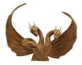 Godzilla Ghidorah Vinyl Bust Bank (2014 Diamond Select) ITEM#1