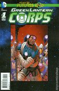 Green Lantern Corps Future's End (2014) 1B