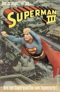 Superman III (Danish Edition 1984 Den Nye Supermanfilm) NN