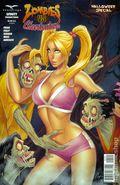Zombies vs. Cheerleaders Halloween Special (2014) 1B