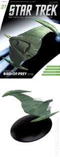 Star Trek The Official Starship Collection (2013 Eaglemoss) Magazine and Figure #027