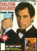 James Bond Living Daylights Official Poster Mag (1987) 0