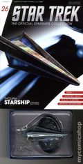 Star Trek The Official Starship Collection (2013 Eaglemoss) Magazine and Figure #026