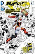 Harley Quinn Invades Comic Con Intl San Diego (2014) 1SDCC