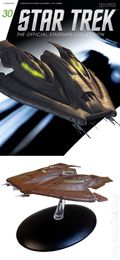 Star Trek The Official Starship Collection (2013 Eaglemoss) Magazine and Figure #030