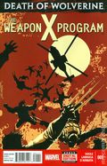 Death of Wolverine The Weapon X Program (2014) 1A