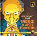 C. Montgomery Burns' Handbook of World Domination HC (2014 Insight Editions) The Vault of Simpsonology Series 1-1ST
