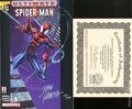 Ultimate Spider-Man (2000) Wizard 1/2 1DF.SIGNED.B