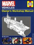 Marvel Vehicles: Owner's Workshop Manual HC (2014 Insight Editions) 1-1ST