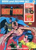 Batman Book and Record Set (1975 Power Records/Peter Pan) 30AN