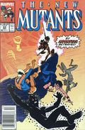 New Mutants (1983 1st Series) Mark Jewelers 83MJ