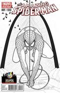 Amazing Spider-Man (2014 3rd Series) 1ATLANTAB&W