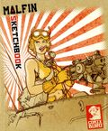 Sketchbook Malfin SC (2014 Comix Buro) 1-1ST