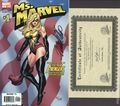 Ms. Marvel (2006 2nd Series) 1ADFSIGNED