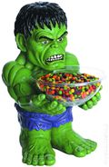 Marvel Comics Hulk Candy Bowl Holder (2014 Rubie's Costume) ITEM#1