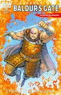 Dungeons and Dragons Legends of Baldur's Gate (2014 IDW) 4SUB