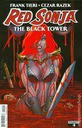 Red Sonja Black Tower (2014 Dynamite) 4A