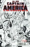 All New Captain America (2014 Marvel) 1STANLEEB&W
