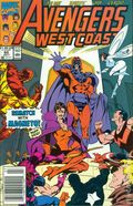 Avengers West Coast (1985) Mark Jewelers 60MJ