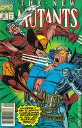 New Mutants (1983 1st Series) Mark Jewelers 93MJ