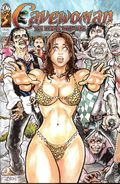 Cavewoman Zombie Situation (2014) 1A