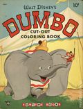 Dumbo Cut-Out Coloring Book (1953) F5047