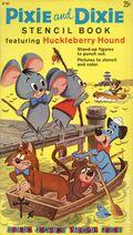 Pixie and Dixie Stencil Book (1960) GF169