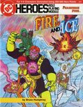 DC Heroes Role-Playing Game The Fearsome Five Fire and Ice SC (1986 Mayfair) #215