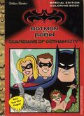Batman and Robin Guardians of Gotham City Special Edition Coloring Book DC (1997 Golden Books) 1-1ST
