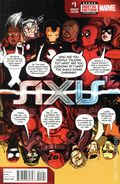 Avengers and X-Men Axis (2014 Marvel) 1F