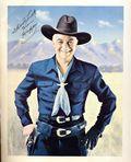 Hopalong Cassidy Promotional Print (Circa 1950) PRINT-01