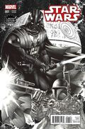Star Wars (2015 Marvel) 1LECOMIXB&W