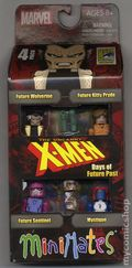 MiniMates: Uncanny X-Men Days of Future Past 4-Pack (2014 ArtAsylum) San Diego Comic Con Exclusive SET #1