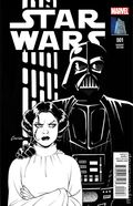 Star Wars (2015 Marvel) 1VAULTB&W