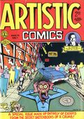 Artistic Comics (1973 Golden Gate/Kitchen Sink) #1, 3rd Printing