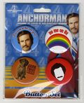 Anchorman The Legend of Ron Burgundy Button Set (2014) SET#1