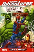 Marvel Adventures Spider-Man, Hulk and Iron Man Triple Threat TPB (2009 Digest) 1-REP