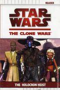 Star Wars The Clone Wars The Holocron Heist SC (2009 Grosset & Dunlap) 1-1ST