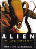 Alien Art Cards and Illustrated Comic (2014 Titan Books) 35th Anniversary Blue Ray Inserts SET#1
