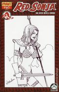 Red Sonja (2005 Dynamite) 25HSKETCH