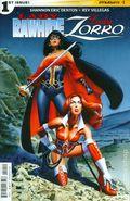 Lady Rawhide Lady Zorro (2015 Dynamite) 1A