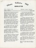 Classics Collectors Club Newsletter (1972) Vol. 1 #1