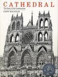 Cathedral The Story of Its Construction SC (1973 Houghton Mifflin) By David Macaulay 1-REP