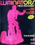 Luminators Neon Monsters: The Mummy Model Kit (1991 Monogram) ITEM#1