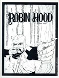 Robin Hood by Howard Chaykin Limited Portfolio (1978 Schanes and Schanes) SET-01