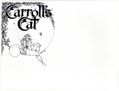 Carroll's Cat Portfolio by Lela Dowling (1979) SET-01