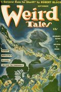 Weird Tales (1923-1954 Popular Fiction) Pulp 1st Series Vol. 36 #1